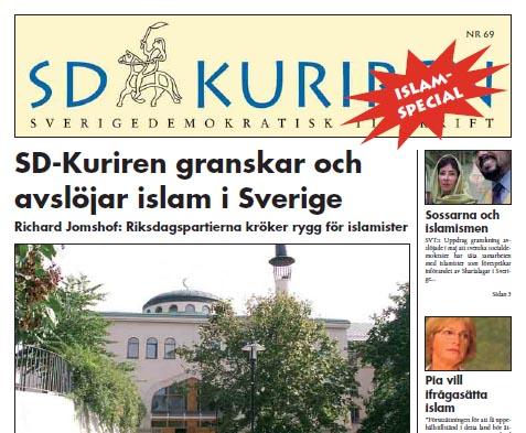 SD-kuriren granskar och avslöjar islam i Sverige