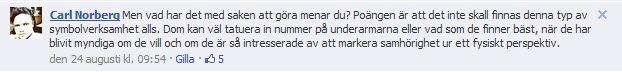 Norbergs text om tatuera in på ärmarna 2012 08 30