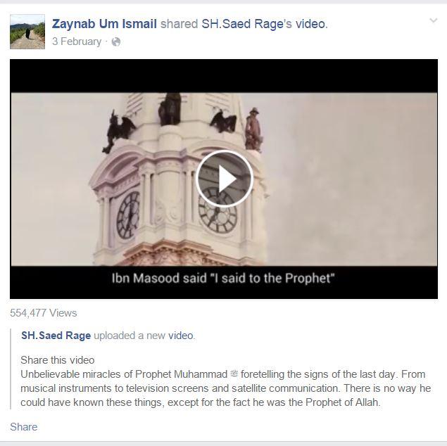 Zanyab om saed Rageah