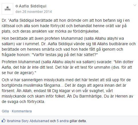 aafia siddique MUSLIMSKA FÅNGAR - 4
