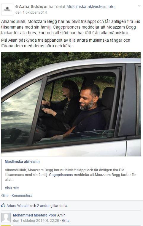 aafia siddique MUSLIMSKA FÅNGAR - 6 Begg