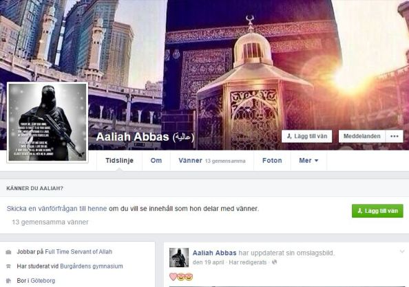 aaliah abbas - en kvinna