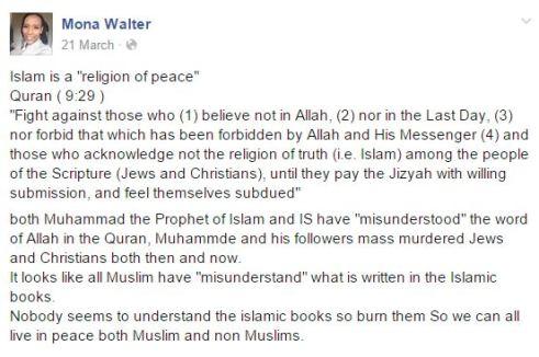 bränn koranen