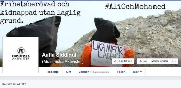 DELA muslimska aktivister inlägg - vem är MA siddique