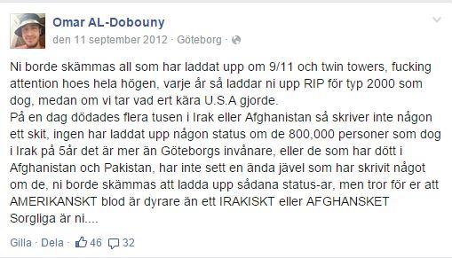 omar al-doubouny (släkt BINT i Ummah Nyh 18e) 911.
