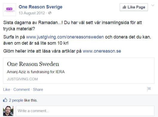 onereason.se - AmanjaFB