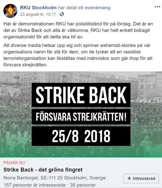 Stalin var inte för fristrejkrätt!